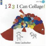 【预订】1 2 3 I Can Collage!