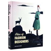 ATLAS OF FASHION DESIGNERS 时装设计师作品集 服装设计素材 时尚服饰设计书籍