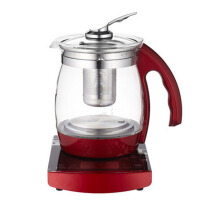 全自动保温花茶壶多功能养生壶家用玻璃电煮茶壶 深
