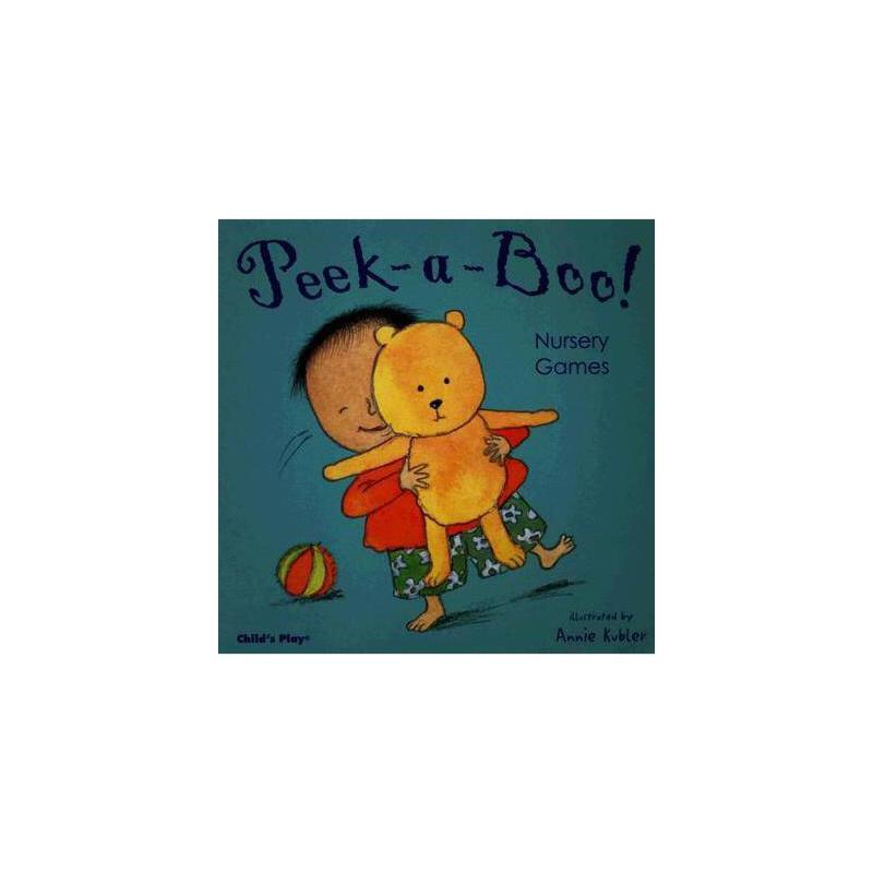 【预订】Peek-A-Boo! Nursery Games 美国库房发货,通常付款后3-5周到货!
