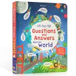 顺丰发货 儿童英文原版 知识百科 Usborne Lift The Flap Questions and Answer