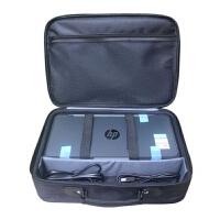 适用佳能IP110便携式打印机手提包惠普200移动打印机专用收纳包 典雅黑 惠普200/258适用 14寸