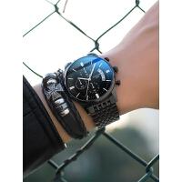 手表男士全自动机械表防水夜光潮流学生石英腕表