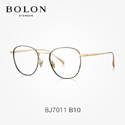 BOLON暴龙光学镜架圆形金属框潮流近视镜个性时尚眼镜架BJ7011