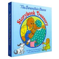 英文原版 贝贝熊 6个绘本故事合集 The Berenstain Bears Storybook Treasury 幽