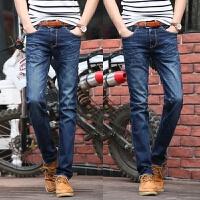 新款2018男士裤子夏季春夏款韩版修身直筒男装牛仔裤男式士休潮流