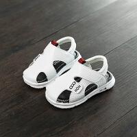宝宝凉鞋男童夏季学步鞋婴儿幼儿童女宝小童鞋子