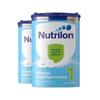 Nutrilon诺优能牛栏荷兰原装进口 婴幼儿牛奶粉配方奶粉1段0-6个月800g 2罐装保税仓发货