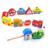 串珠儿童玩具宝宝益智积木1-2岁婴儿早教女孩穿绳穿线串珠子玩具