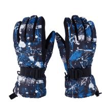 韩版滑雪手套男女款 防风防水 冬季户外骑行防寒加厚保暖手套