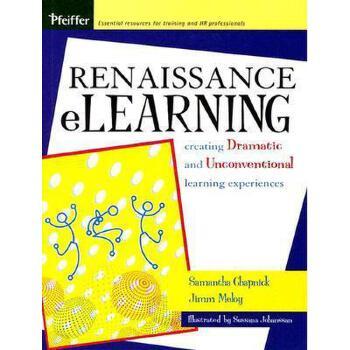 【预订】Renaissance Elearning: Creating Dramatic And 美国库房发货,通常付款后3-5周到货!