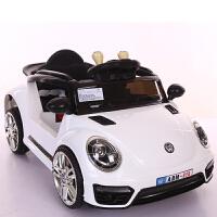 20190706113523618 新款甲壳虫儿童电动车遥控四轮发光可坐摇摆小孩玩具宝宝电瓶汽车