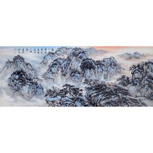 苏宝玺《山水1114》著名画家