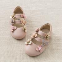 [2件3折价:87]戴维贝拉春季新款皮鞋 女宝宝时尚皮鞋公主鞋DB7286