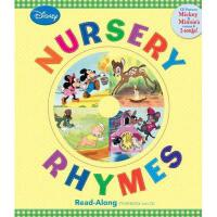 英文原版儿童书 Disney Nursery Rhymes [With Hardcover Book(s)] 迪士尼儿