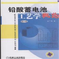 铅酸蓄电池工艺学概论-第2版( 货号:711133485)