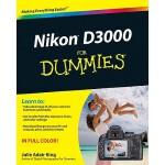 【预订】Nikon D3000 For Dummies