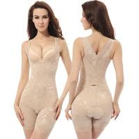 (加强版)薄款收腹束腰提臀减肚子衣连体塑身衣美体塑身内衣