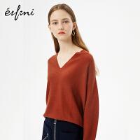 伊芙丽新款韩版时尚女装毛针织衫1171015236134