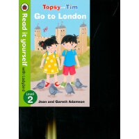 Read it Yourself: Topsy and Tim: Go to London(Level 2)去伦敦(大开