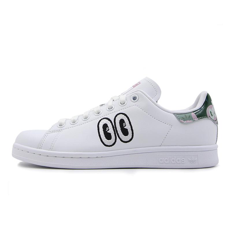 adidas/阿迪达斯女款三叶草经典鞋STANSMITH刺绣大眼睛休闲鞋板鞋CM8415