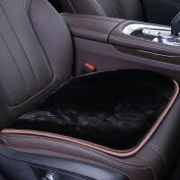新款坐垫 汽车冬季 小方无靠背毛绒保暖座垫 座椅垫防滑