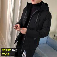 棉衣男2018新款修身韩版学生短款加厚冬装羽绒棉袄子潮流冬季外套