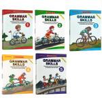 顺丰发货 英文原版Scholastic Grammar Skills 4册套装 语法技巧小学生练习册附答案 学乐出品