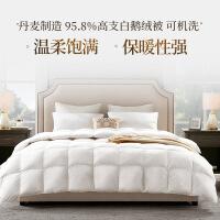 【网易严选春节欢乐季 6折专区】丹麦制造 95.8%高支白鹅绒被 可机洗