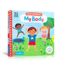 【全店300减100】预售 英文原版 First Explorers: My Body 小小探索者:我的身体我做主 机关
