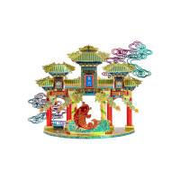 龙感3d立体拼图金属拼装模型建筑鲤鱼跃龙门手工diy新年礼物吉利