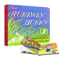 【全店300减100】英文原版 The Runaway Bunny 逃家小兔 纸板书 吴敏兰 廖彩杏书单 百本好书推荐