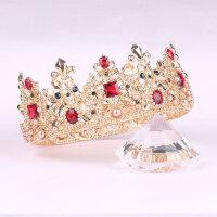 -异域瑰丽复古整环新娘皇冠头饰巴洛克结婚王冠女王发饰新娘饰品