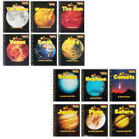 英文原版 Scholastic inner outer solar system Readers 12册 科普认知绘本