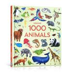 顺丰发货 1000种动物百科 英文原版 1000 Animals 精装 儿童科普认知识物 动物绘本 3-6岁 插图生动