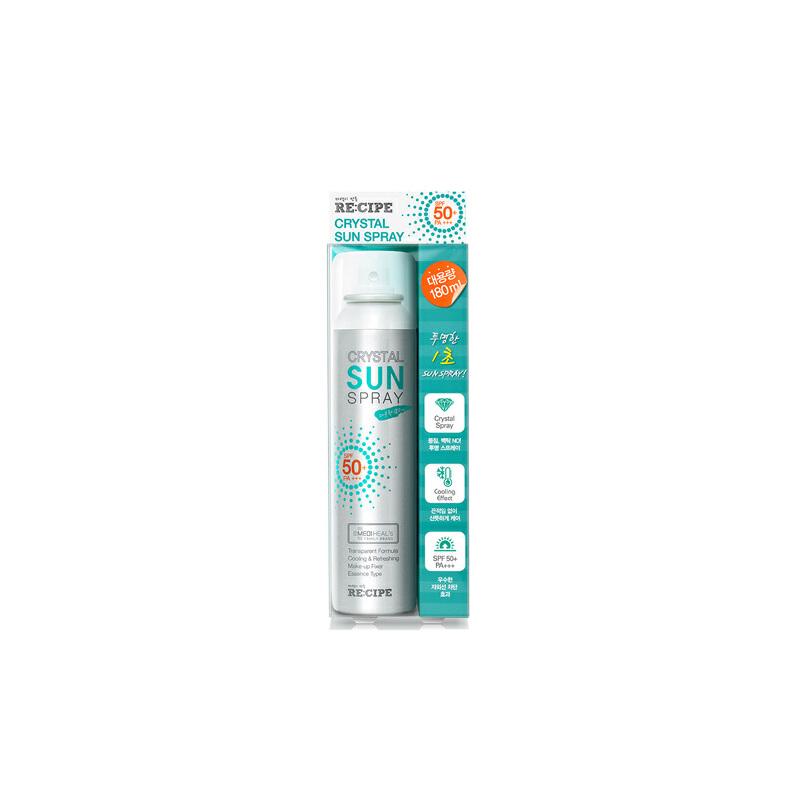 新包装E:CIPE韩国水晶防晒隔离喷雾新包装150ml  SPF50 男女通用质地轻薄不油腻,不厚重大人小孩都可用。