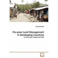 【预订】Pro-Poor Land Management in Developing Countries
