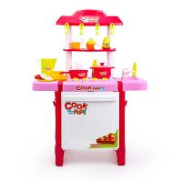 儿童过家家厨房玩具套装女孩仿真厨具女童宝宝做饭煮饭礼物
