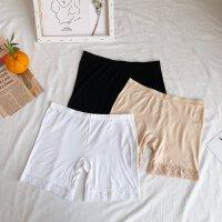 夏装新款女外穿薄款三分打底裤短裤保险裤防走光安全短裤