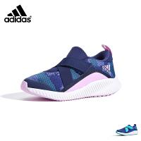 阿迪达斯adidas童鞋18新款秋季儿童便捷轻盈运动鞋中大童跑步鞋女童透气休闲鞋防滑耐磨运动鞋 (5-15岁可选) B