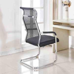 门扉 椅子 椅子职员网布会议家用现代简约办公椅子弓形电脑椅子