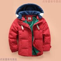 儿童羽绒服男童2018新款韩版加厚羽绒外套中小童冬装