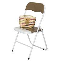 [当当自营]慧乐家 电脑椅 丝印骆驼椅 简约时尚折叠椅 咖啡色 22037-1