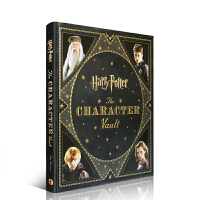 进口英文原版正版小说 Harry Potter 哈利波特The Character Vault角色宝典:人物设定全集海