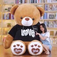 毛绒公仔娃娃送女生 可爱抱抱熊公仔泰迪熊猫布娃娃送女孩毛绒玩具特大号生日礼物女友