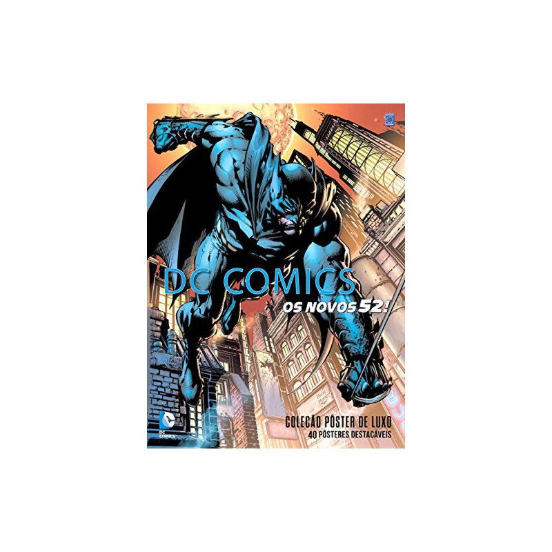 DC Comics - The New 52: The Poster Collection  DC漫画 - 新52:海报集合【英文原版童书】