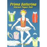 【预订】Prima Ballerina Sticker Paper Doll