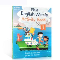 英文原版 Collins First English Words Activity Book 1 Age 3-7 柯林