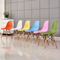 门扉 椅子 塑料洽谈椅子 北欧创意个性餐桌椅塑胶咖啡椅 休闲塑料餐椅