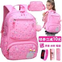 儿童书包小学生1-3-4-5-6年级日本一韩版校园护脊双肩包女童女孩